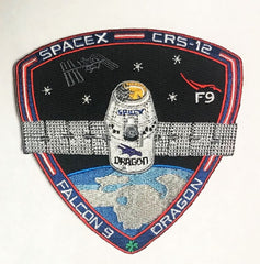 OFFICIAL SPACEX CRS-12 MISSION PATCH