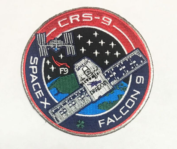 OFFICIAL SPACEX CRS 9 MISSION PATCH - The Space Store