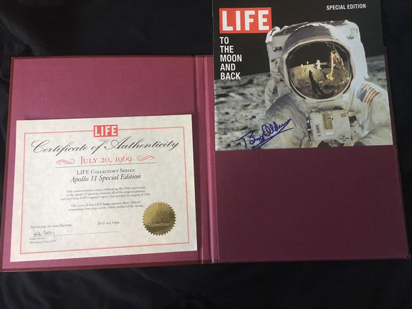LIFE COLLECTOR'S SERIES - LIFE MAGAZINE SIGNED BY BUZZ ALDRIN