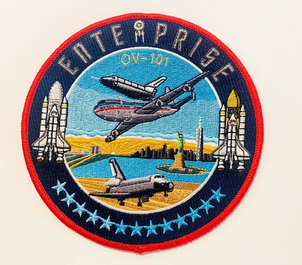 "ENTERPRISE 5"" Patch by Artist Tim Gagnon"