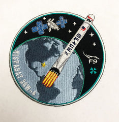 SPACEX HISPASAT 30W 6 MISSION PATCH