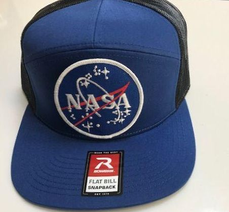 NASA (original) Logo  Patch Cap - with velcro NASA 3