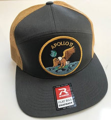 "Apollo 11 Patch Cap - with velcro Apollo 11  3"" Patch"