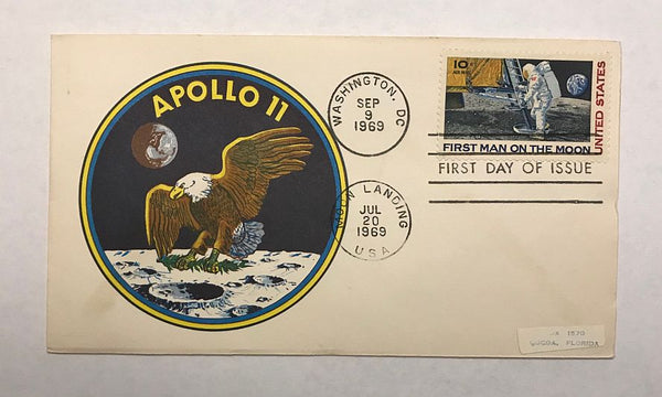 APOLLO 11 FIRST DAY COVER - The Space Store