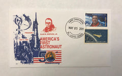 ALAN B. SHEPARD 'AMERICA'S FIRST ASTRONAUT' COMMEMORATIVE COVER