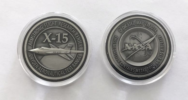 X-15 Medallion Armstrong / Dryden Dedication - The Space Store