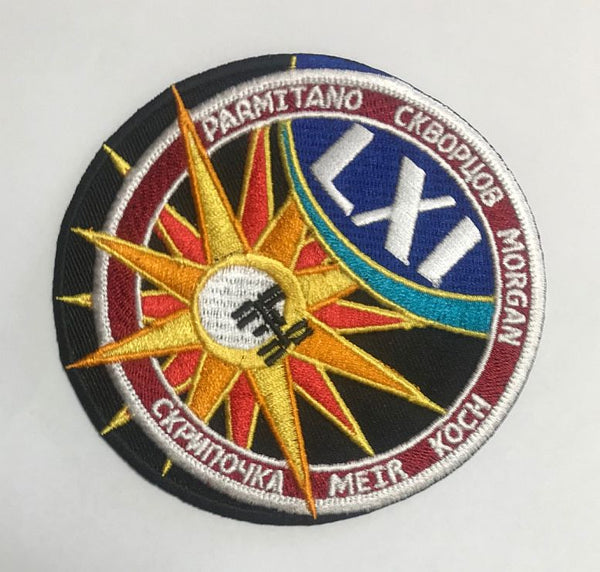 Expedition 61 Mission Patch
