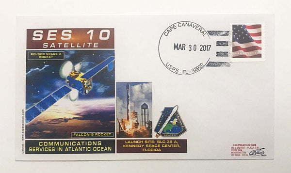 SPACEX SES-10 LAUNCH COVER