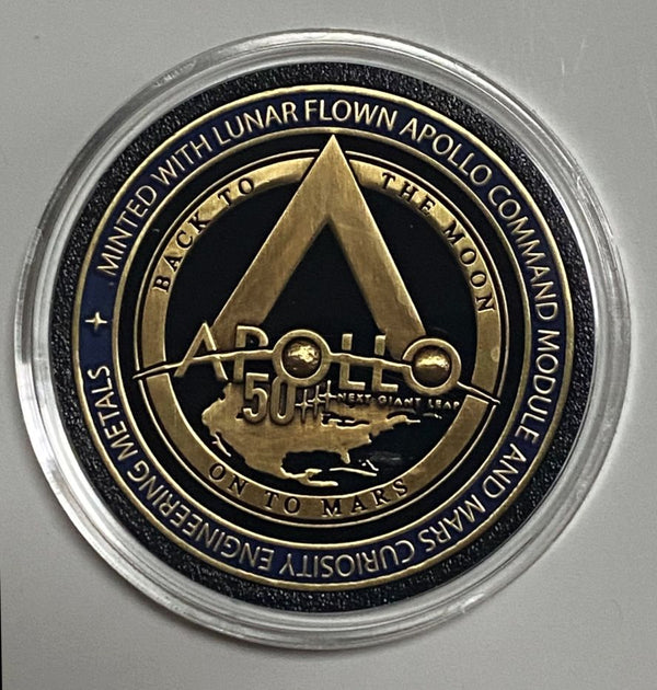 NEW!! Apollo 11 50th Anniversary Medallion from Winco, Official NASA Supplier - The Space Store