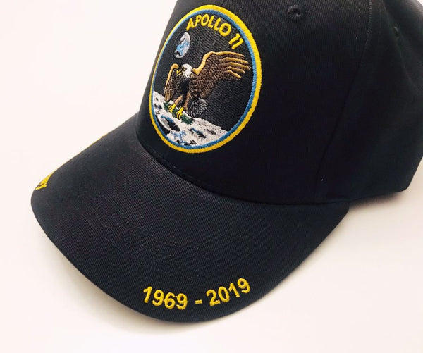 Apollo 11 50th Anniversary Cap - The Space Store