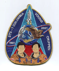 STS-1 40th Anniversary Commemorative by Artist Tim Gagnon