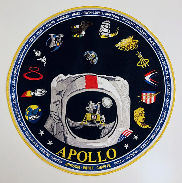 "Apollo 12"" Commemorative Patch - The Space Store"