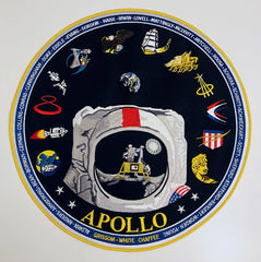 "Apollo 12"" Commemorative Patch"