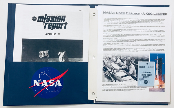 APOLLO 11 LAUNCH COUNTDOWN MANUAL PRESENTATION - The Space Store