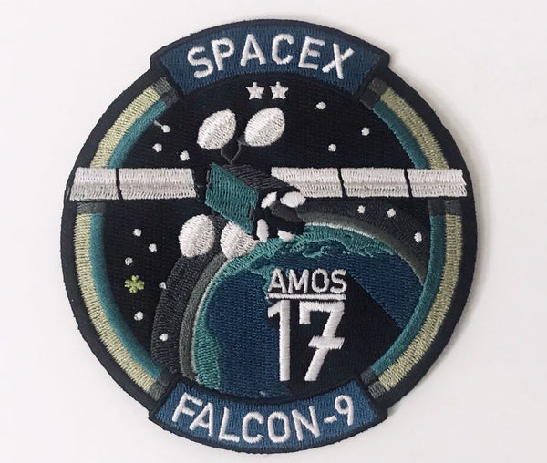 SPACEX AMOS-17 MISSION PATCH - The Space Store