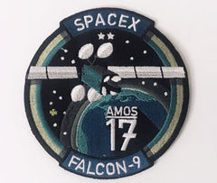 SPACEX AMOS-17 MISSION PATCH