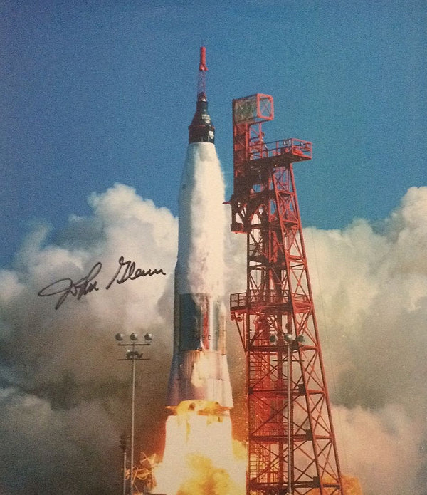 JOHN GLENN AUTOGRAPHED 8X10 PHOTO - The Space Store