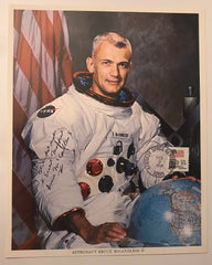 BRUCE McCANDLESS II  INSCRIBED AUTOGRAPHED PHOTO