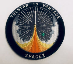 SPACEX TELSTAR 19 VANTAGE MISSION PATCH