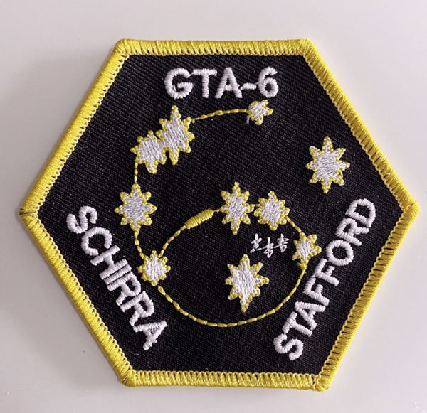 Gemini 6 Mission Patch - The Space Store