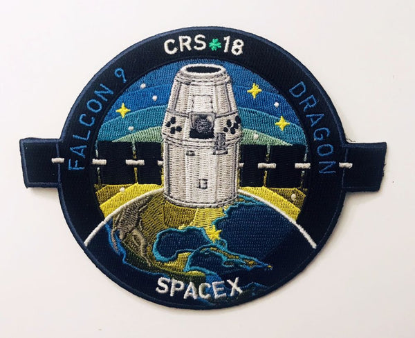 SPACEX CRS-18 MISSION PATCH - The Space Store