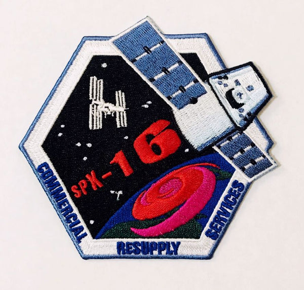 SPACEX SPX-16 MISSION PATCH