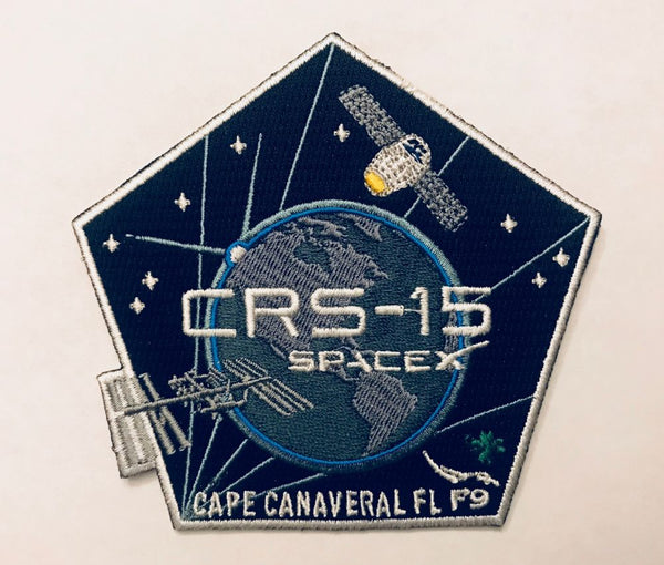 SPACEX CRS-15 MISSION PATCH - The Space Store