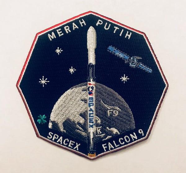 SPACEX MERAH PUTIH MISSION PATCH
