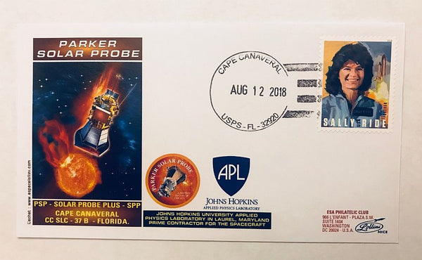 PARKER SOLAR PROBE MISSION - COVER - The Space Store