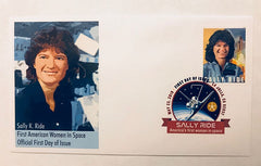 AMERICA'S FIRST WOMAN IN SPACE - SALLY RIDE COVER (version 2)