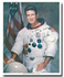 JIM IRWIN ULTRA-RARE SIGNED 8X10 NASA WSS - The Space Store