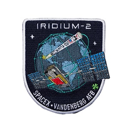 SPACEX IRIDIUM 2 MISSION PATCH