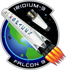 SPACEX IRIDIUM 3 MISSION PATCH
