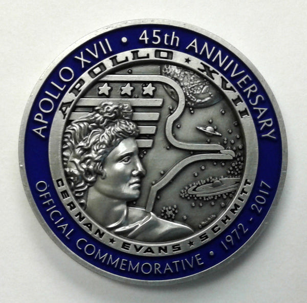 APOLLO XVII LIMITED EDITION MEDALLION - SERIES 2 - The Space Store