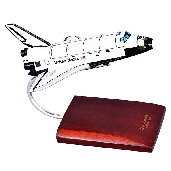 SPACE SHUTTLE ORBITER ATLANTIS 1/200 SCALE MODEL - The Space Store