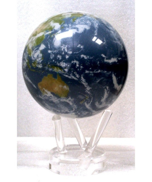 Mova Globe Revolving Satellite View Globe with Cloud Cover 4.5-inch