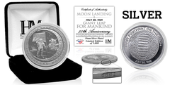 Apollo 11 Moon Landing 'Giant Leap For Mankind' Coin