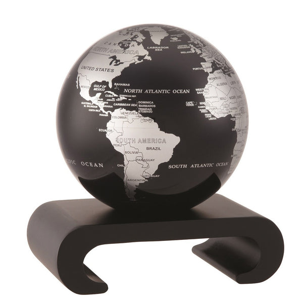 Arched Pedestal for 4.5 inch MOVA Globe (Black wood base) - The Space Store