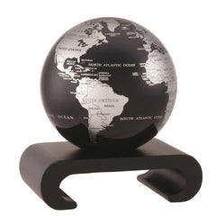 Arched Pedestal for 4.5 inch MOVA Globe (Black wood base)