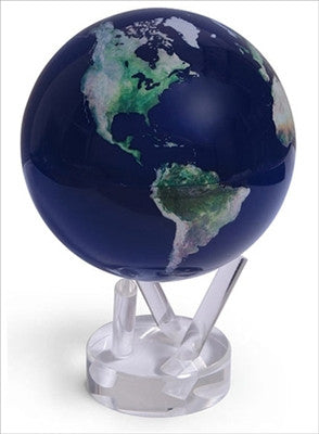 MOVA Globe - Satellite View Natural Earth 4.5 Inch