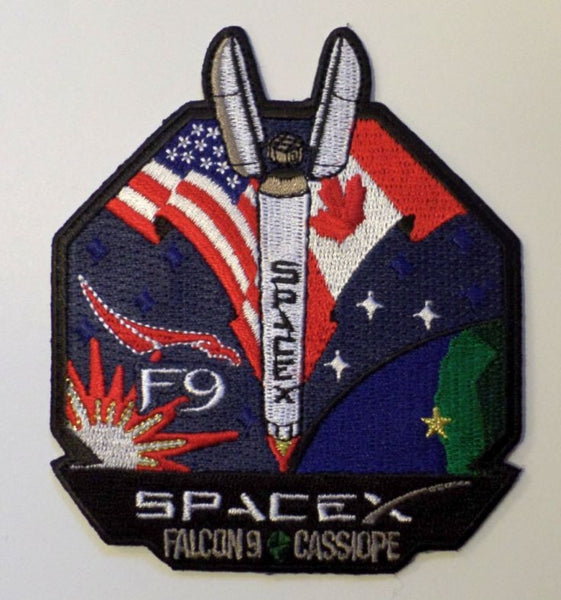 SPACEX MISSION PATCH CASSIOPE