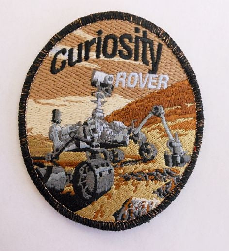Mars Curiosity Rover Patch - The Space Store