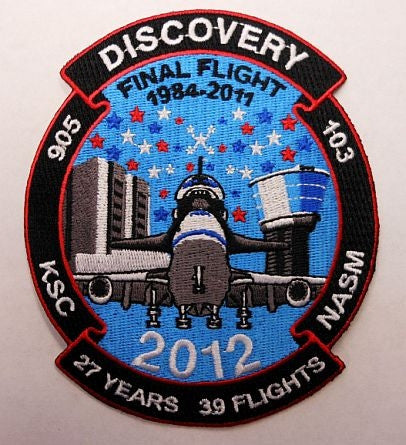 Discovery's Final Flight Patch - The Space Store