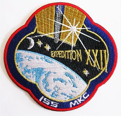 Expedition 22 Mission Patch