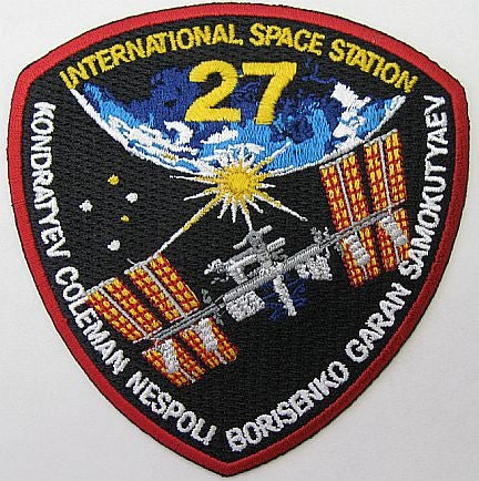 "Expedition 27 Mission 4"" Patch"