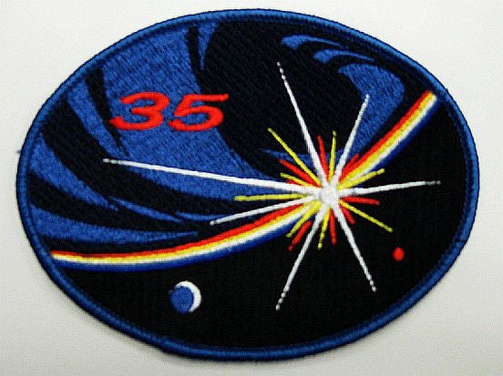 Expedition 35 Mission Patch