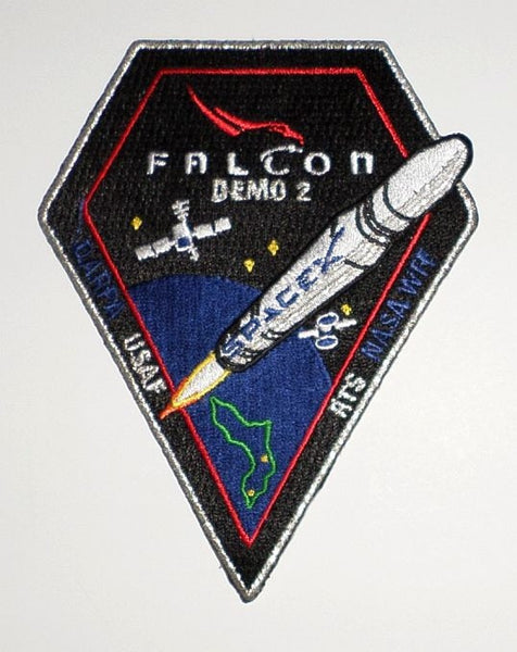 SPACEX MISSION PATCH FALCON DEMO 2 ​
