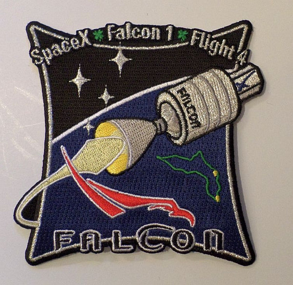 SPACEX MISSION PATCH FALCON FLIGHT 4