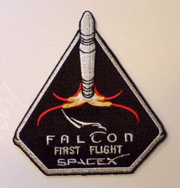 SPACEX MISSION PATCH FALCON FIRST FLIGHT - The Space Store
