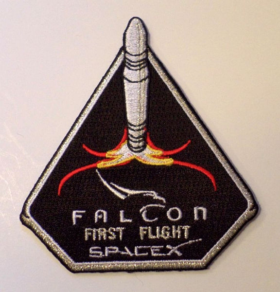 SPACEX MISSION PATCH FALCON FIRST FLIGHT